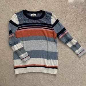 LOFT Outlet Striped Sweater - Size M